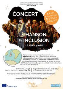 Concert «Chanson et Inclusion»