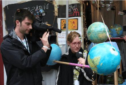 Projet Le choeur a ses raisons de Raphy Rafael - suivi par Télévision du monde