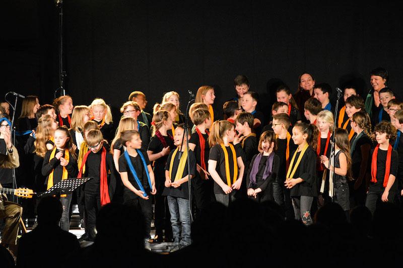 Concert de Raphy Rafaël à l'école Bonne Esperance