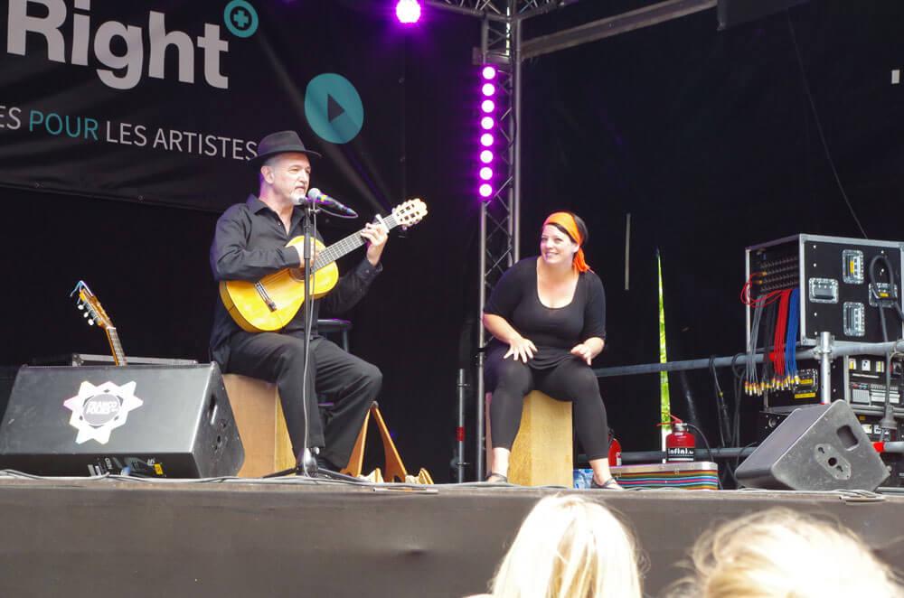 Spectacle Chant Signe avec Raphy Rafael et Cindy Baraté