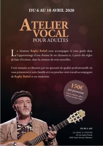 Atelier Vocal pour Adultes